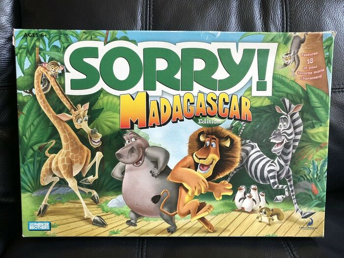 """Madagascar edition, 2005. The film logo is probably custom, """"Edition"""" is in ."""