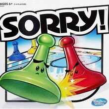 <cite>Sorry!</cite> board game (1972–)