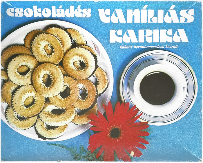 Vaníliás karika biscuit box 1