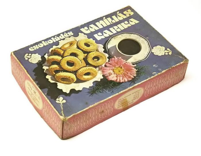 Vaníliás karika biscuit box 2
