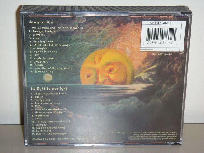 The Smashing Pumpkins – Mellon Collie and the Infinite Sadness album art 3