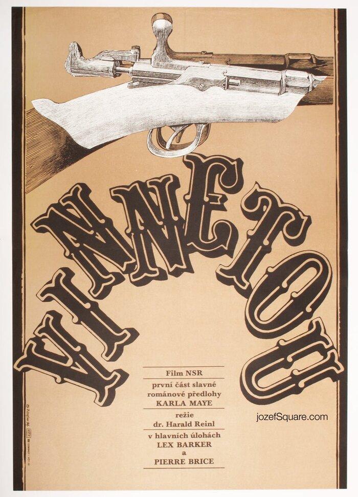 Vinnetou Czechoslovak movie posters 1