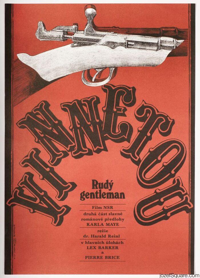 Vinnetou Czechoslovak movie posters 2