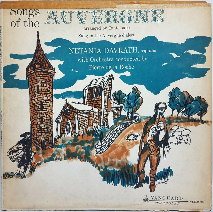 Songs of the Auverge (1961). [More info on Discogs]