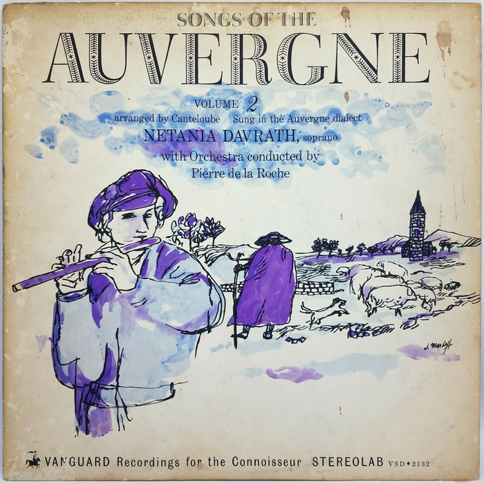 Songs of the Auverge, vol. 2 (1963). [More info on Discogs]
