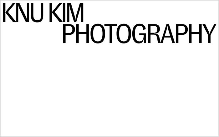 Knu Kim portfolio website 1