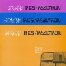 RCS/Realtron logo and brochures
