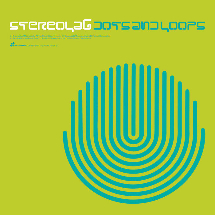 Stereolab – Dots and Loops album art 1