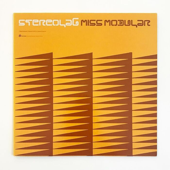 Stereolab – Dots and Loops album art 8