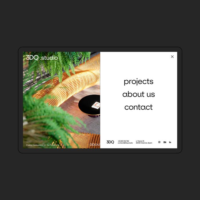 3DQ studio website 1