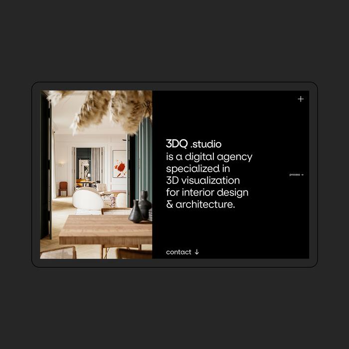 3DQ studio website 2
