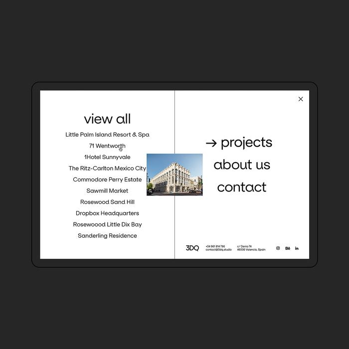 3DQ studio website 3