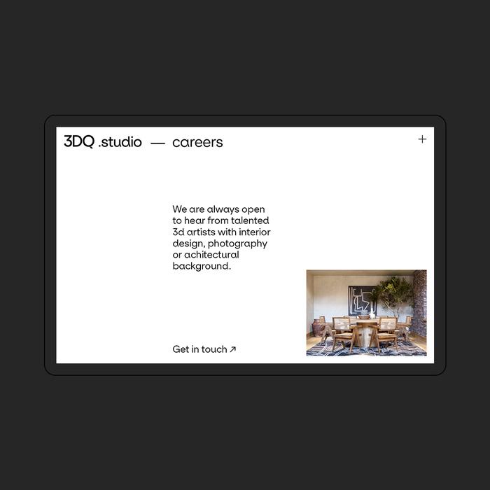 3DQ studio website 4