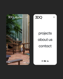 3DQ studio website