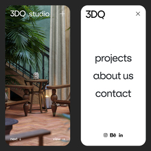 3DQ studio website