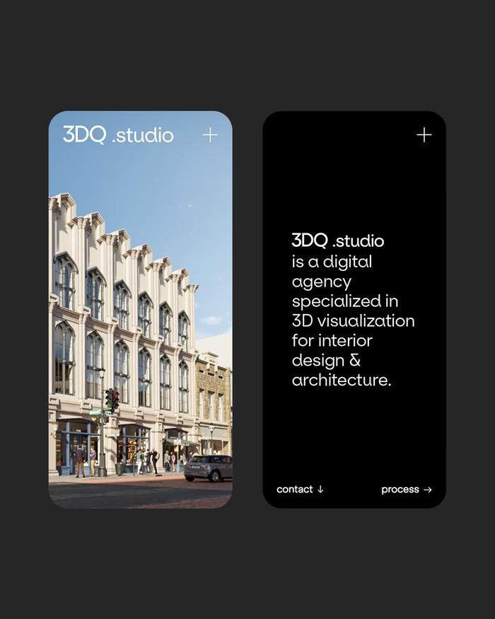 3DQ studio website 6