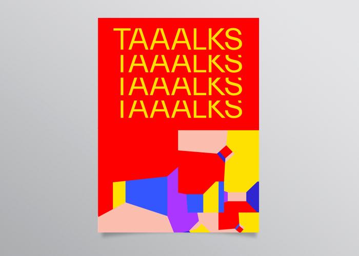 TAAALKS #1, 2018 2