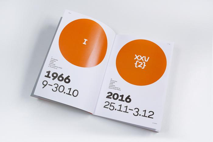 25th Wrocław Graphic Design Exhibition catalogue 1