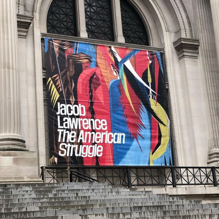 Jacob Lawrence: The American Struggle at The Met 1