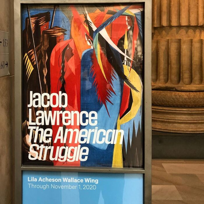 Jacob Lawrence: The American Struggle at The Met 9
