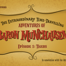 <cite>The Extraordinary Time-Travelling Adventures of Baron Munchausen</cite> by Oh So Funny Comedy