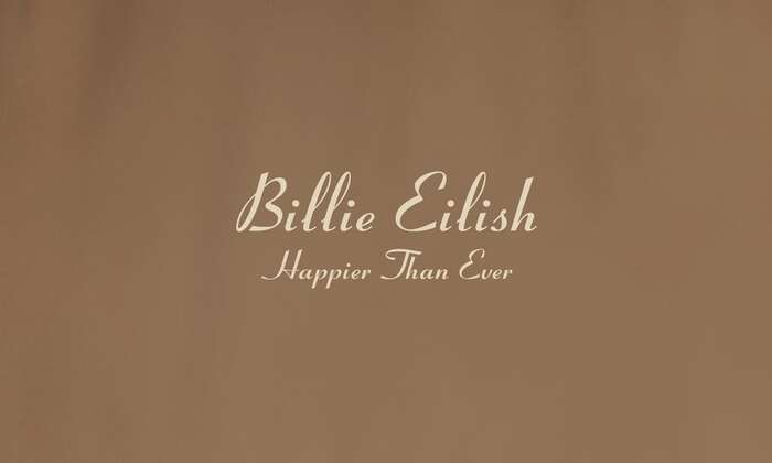 Billie Eilish – Happier Than Ever album art 5