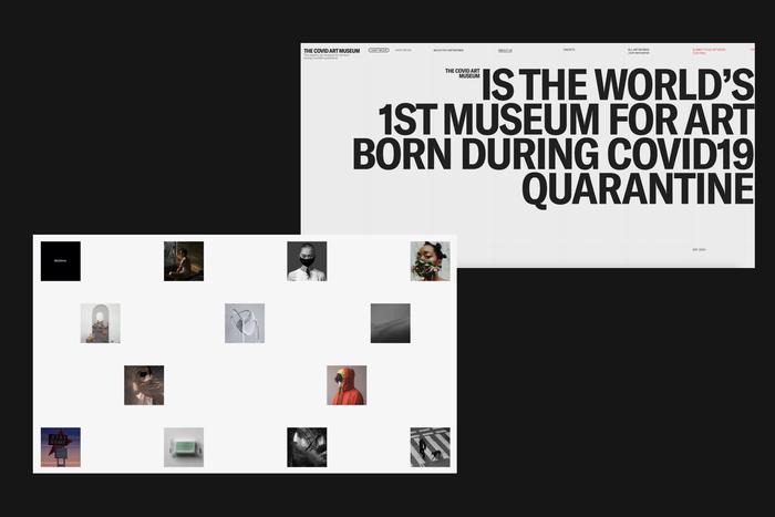 The Covid Art Museum website 4