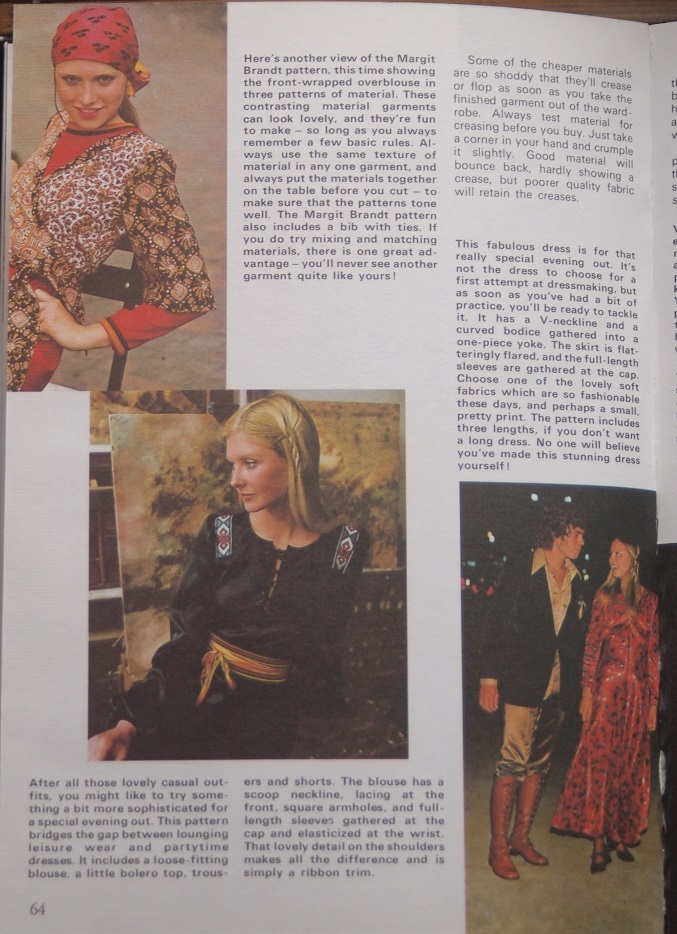 'Sewing it in STYLE' article (page 64)