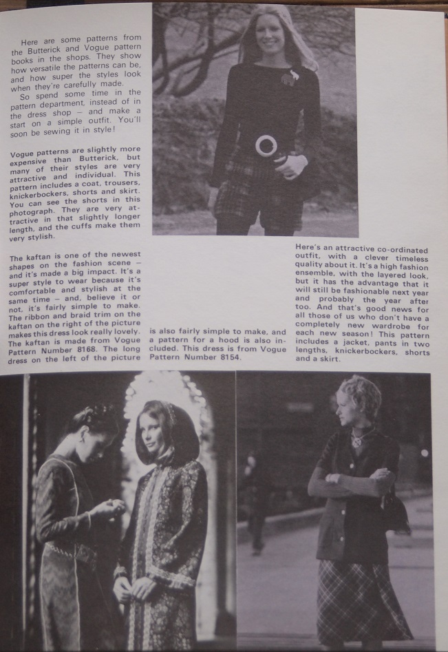 'Sewing it in STYLE' article (page 65)