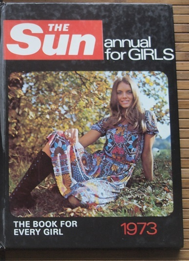 The Sun: Annual for Girls 1973 (front cover)