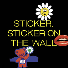 Sticker, Sticker on the Wall website