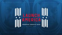 Launch America visual identity