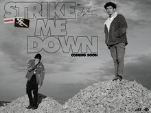 "Joey Zen – ""Strike Me Down"" music video and promo graphics"
