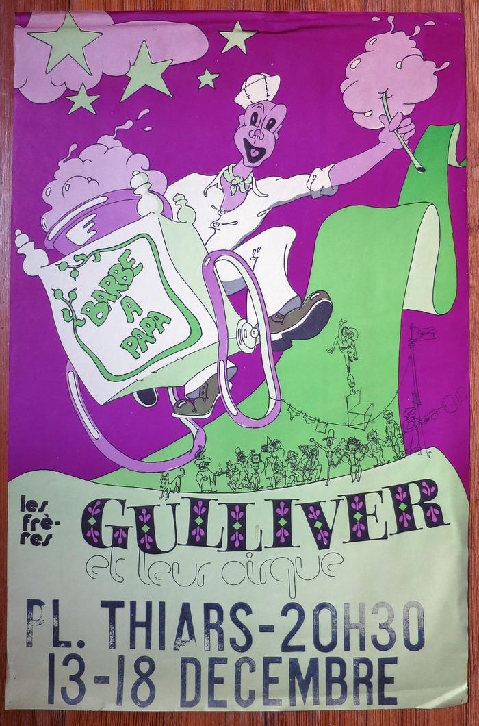 Les Frères Gulliver et leur cirque poster