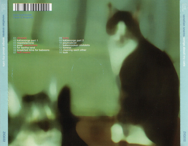 Venetian Snares – Songs About My Cats album art 2