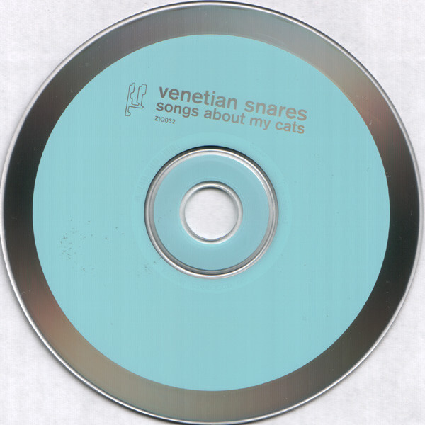 Venetian Snares – Songs About My Cats album art 3