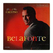 Harry Belafonte  – <cite>Jump Up Calypso</cite> album art
