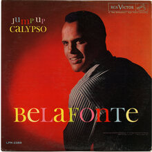 Harry Belafonte  – <cite>Jump Up Calypso</cite> album art