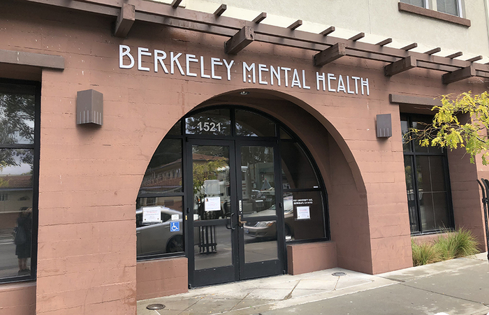 Sign of Berkeley Mental Health.