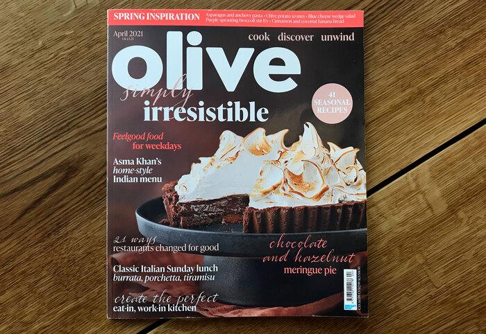 Olive magazine, April 2021 1
