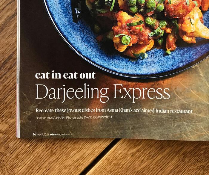 Olive magazine, April 2021 3