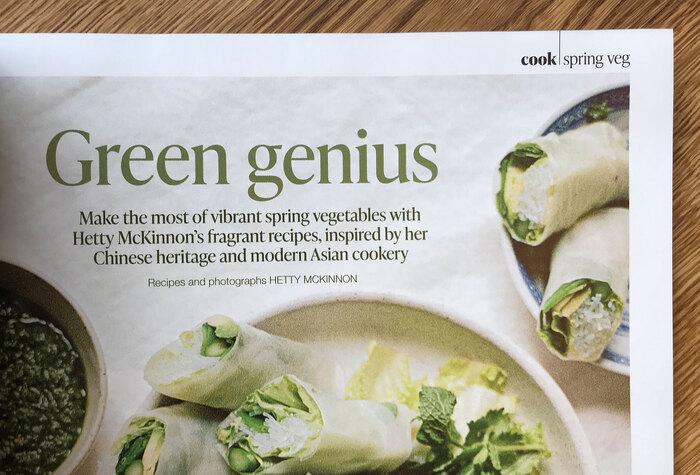 Olive magazine, April 2021 4