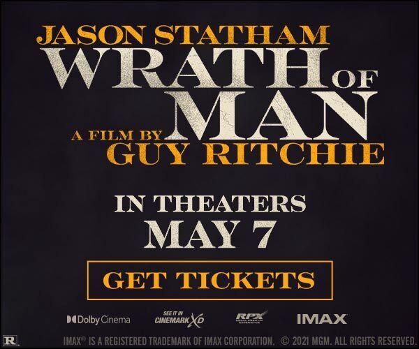 Wrath of Man (2021) movie poster 3