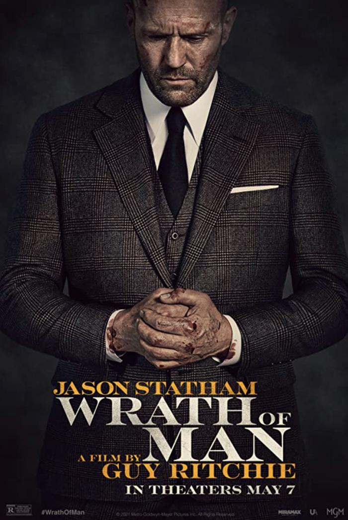 Wrath of Man (2021) movie poster 2