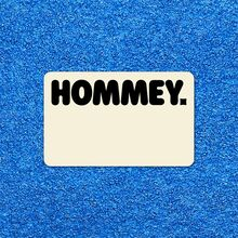 Hommey branding and website