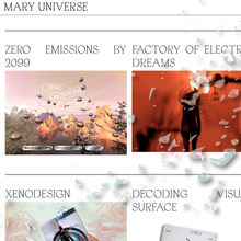 Mary Universe website