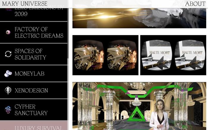 Mary Universe website 4
