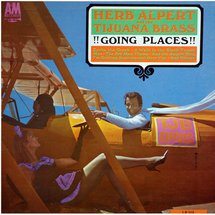 Herb Alpert And The Tijuana Brass – !!Going Places!! album art 1