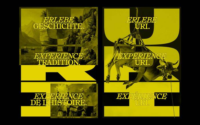 Swiss Tourismus posters for Canton Uri (proposal) 3