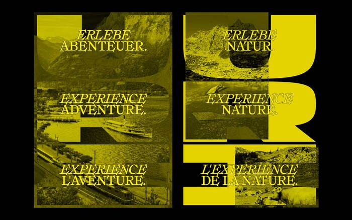 Swiss Tourismus posters for Canton Uri (proposal) 4